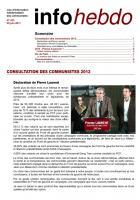 Info Hebdo N°433
