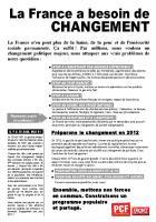 La France a besoin de changement