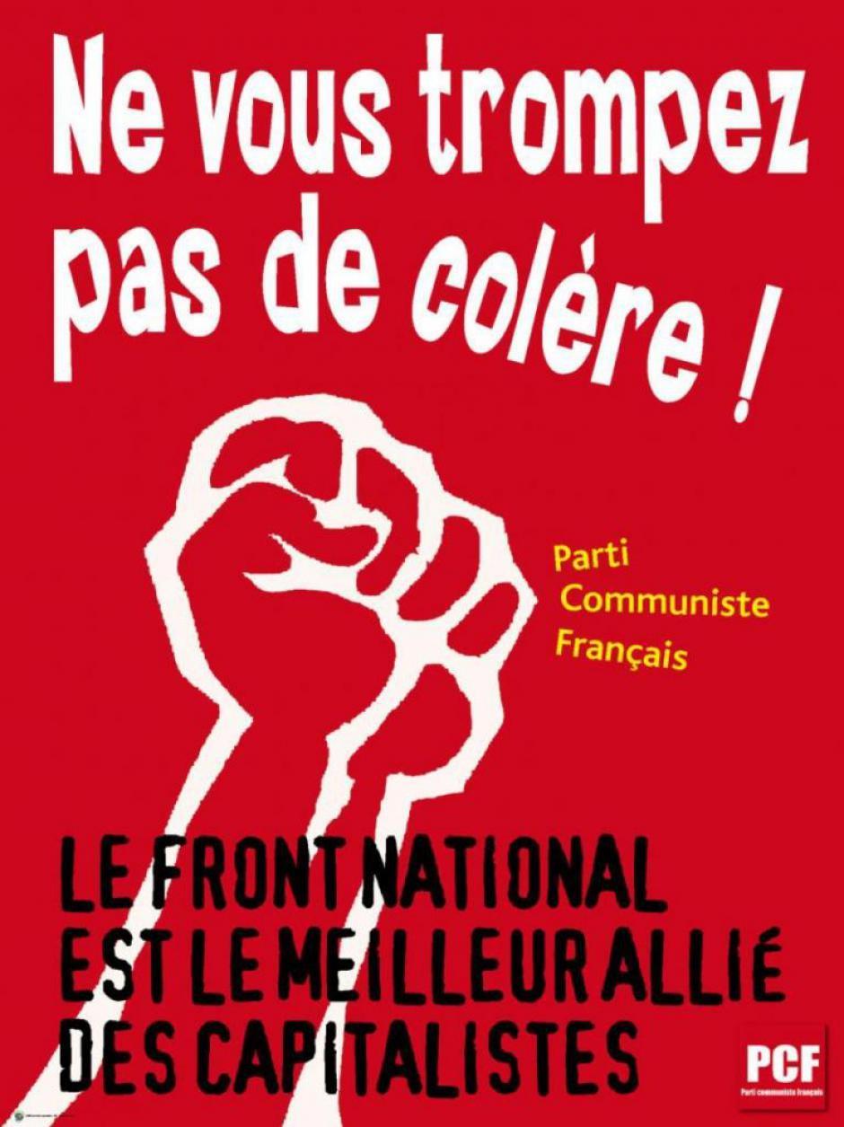 Limoges: Le PCF condamne la campagne de division du FN.
