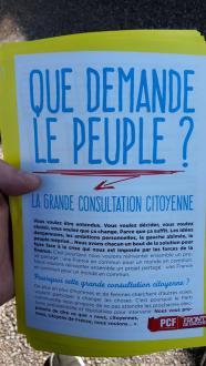 Consultation citoyenne pour les élections de 2017