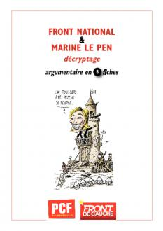 Front national : argumentaire