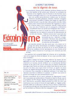 Communistes féministes mai 2011
