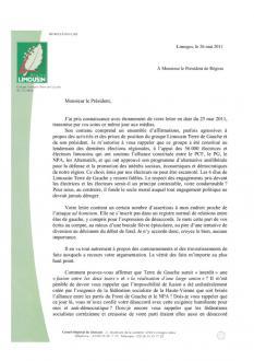 Réponse de Chrisitian Audouin à Jean-Paul Denanot