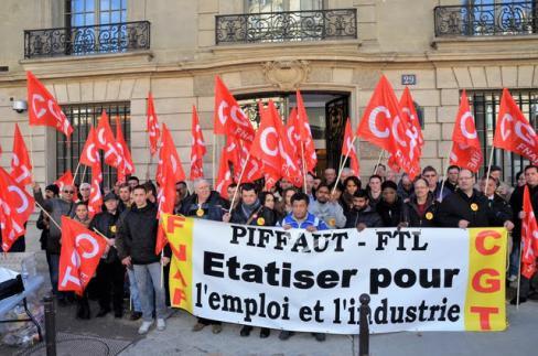 Le PCF apporte son soutien à la lutte des salariés de Madrange.
